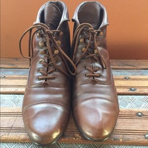 Vintage Ankle boots brown